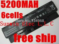 5200mah new laptop battery for ASUS N46 N46V N46VJ N46VM N46VZ N56 N56V N56VJ N56VM N76 N76VZ A31-N56 A32-N56 A33-N56 56WH