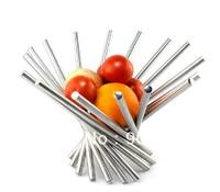 Home kitchen decor stainless steel kitchen fruit basket holder