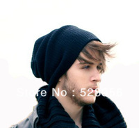 Fashion winter hat autumn casual knitted hat men sport casual cap cotton warm sport beanies