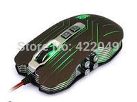 Juggernaut family  9D designed gaming mouse 2400DPI 4 degrees genuine original 4-color breathing light