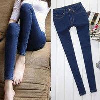 Korean Fashion Woman Denim Jeans Pencil Pants Womens Skinny Calca Jeans Femininas Capris Casual Large Size 5090