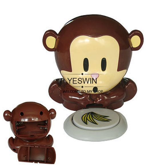 2012 free shipping Cute Unique nail dryer New Monkey Fingernails Polish Blower Dryer set + Freeshing 4365(China (Mainland))