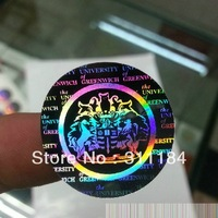 Custom hologram label stickers  security genuine printing unremovable antifake counterfeit for logo lables
