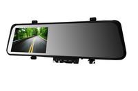 """4.3"""" rear mirror cyclic recording car dvr camera registor+Novatek 96220+slide keyboard+night vision+G sensor+motion detection"""