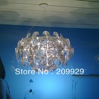 AC110V/220-230V  Hope texture lamps pendants transparency good tequila Chandelier