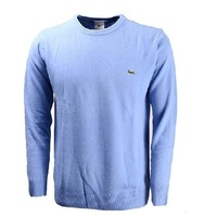 2014 new men's cotton round neck long-sleeved sweater backing 12 colors