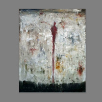 50CM*60CM  Free shipping 100% Handpainted Museum Quality modern abstract art(no frame)