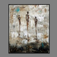 50CM*60CM  Free shipping 100% Handpainted Museum Quality oil paintings abstract(no frame)