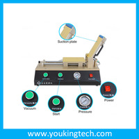 Cheap price lcd separating machine with UV lamp dryer+mold+UV glue