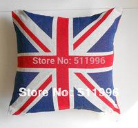 2012 London Olympic jacquard cushion cover Union Jack 2014 New design  free shipping !CC001