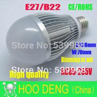 Sale LED Bulb lamp 20W 220v e27 b22 led lamp cold/warm white led Light bubble light free shipping