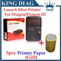 100% Original Launch X431 Diagun Mini Printer Diagun III mini printer with high quality DHL free shipping