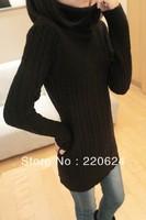 New Hottest Women's autumn velvet turtleneck long-sleeve basic shirt white solid color pullover sweater S M L XL