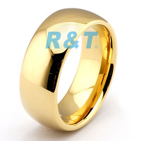 Lovely Plated jewelry High Fashion Wholesale Tungsten Carbide Electroplate Ring TRD-061 size 7-13