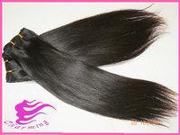 straight Indian virgin hair bundles pure human Indian hair extension 6a grade unprocessed virgin Indian hair straight  weaving