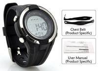 Pulse Watch Heart Rate Monitor cardiaco Sport Running digital  Wristwatch Alarm Clock With Chest