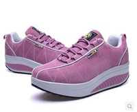 Free Shipping!Fashion Slimming sneakers for women, lady's Trendy Health Lady Beauty Swing Running Shoes,Top Quality