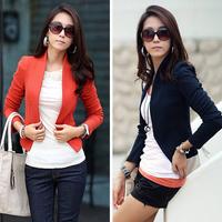Hot Fashion Women Clothes Long Sleeve Shrug Cropped Career Formal OL Short Jacket Suits Blazer Bolero Coat Cardigan Outwear 0614