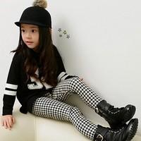 Children's winter warm leggings Girls pencil pants for girls Kids thickening trousers elastic waist