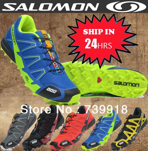 100% подлинный Salomon мужчин zapatillas Размер