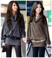 2014 new women's  bat  sleeve dress   winter dress