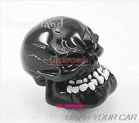 Free Shipping!! Resin Shift Knob Universal gear head gear stick head modified head gear teeth ghost personality-Car Stying