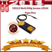 New 2014 Multi-Di@g Access J2534 Pass-Thru V2013 OBD2 Device Tools Electric obd2 Auto Diagnostic Tool