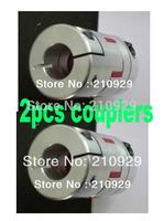2pcs shaft couplers 6.35mm-6.35mm