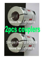 2pcs shaft couplers 6mm-6mm