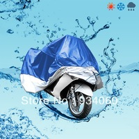 XXL 265x105x125cm Motorcycle Motorbike Water Resistant Dustproof UV Protective Breathable Cover