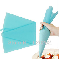 39 x 23 cm Large pastry bags!New Arrival silicone cake decorating bag,Re-useable Cookie Icing piping bag,baking tools for cakes