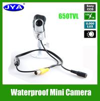 1/3  CCD JYA6006 Waterproof Mini hidden Wide dynamic Motion Detenction OSD Menu camera