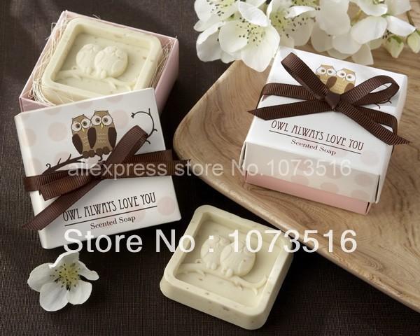 Fashion Wedding Accessary Gift Cute Owels Style Mini Goap Shower Wedding Favors(China (Mainland))