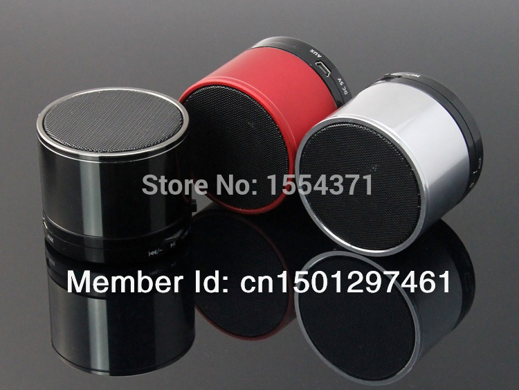 New S10 small steel gun Portable Bluetooth Speaker Handsfree Bluetooth card small stereo mini speaker(China (Mainland))