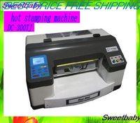 Part Fast Free shipping DC-300 Digital  Foil Printer /Hot stamping machine/hot stamping printer