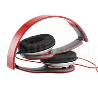 Brand New 3.5mm Jack Red Stereo Gaming headset Auriculares Headphone Earphone Earpods  for Computer  iPod Phone PC MP3 MP4 MP5