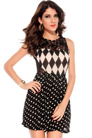 european and american girl bodycon  dress 2013 New Jasmine edge dress shirtelegant lace dress