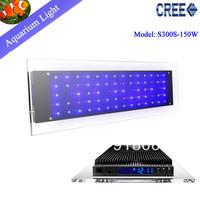 Free shipping  NEW Crystal  CREE 150W  LED aquarium light ,seawater aquarium lights