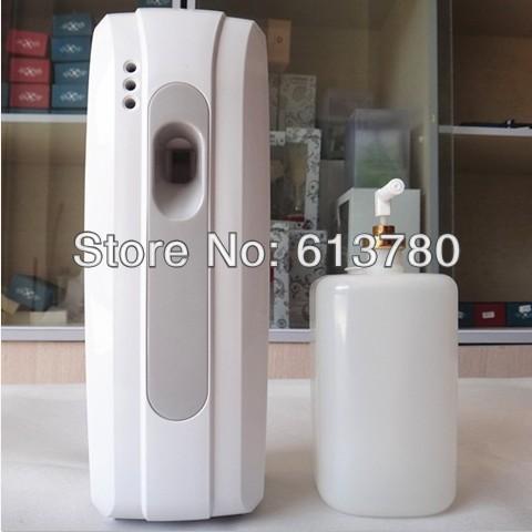 LCD adjustable aerosol dispenser liquid perfume dispenser air purifiers air frenshener(China (Mainland))