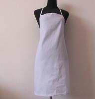 Free shipping cooking tools cheap cotton twill apron 3 pcs/ctn 65x70cm
