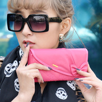 Ms. Jamie Road Wallet embroidered bow Ms. fold