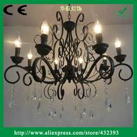 2013 Asfour Iron Candle Crystal Chandelier Living Room Lights Bedroom Lamp Antique Chandelier Lighting Brief Chandeliers Light