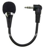 Free shipping!K song 3.5mm mini notebook mini computer  microphone mini bendable MIC