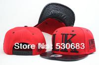 Last king Snapback cap most popular LK logo leather brim baseball caps 3 colors men women hip hop hat!Free shipping!