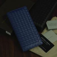 Genuine Leather Men-Women Wallet Vintage Classic Lambskin Brand Wallet Business Money Clip Leather Purse Carterira 2014 TBG0103