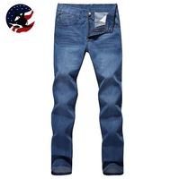 New Arrival Men's Rock Jeans Slim/2014 Promotion Mens Classic Skinny Bermuda Jeans/Free Shipping Mens Fashion Destoryed Jeans