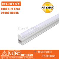Wholesale price 24pcs/lot LED Tube t5 0.9m 12W  led tube t5 light 900-950lm led fluorescent tube lamp Hot selling