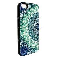 Flower Leaf Art Wood Stripes Back Cover Case Skin Protector For iPhone 5C