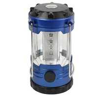 Camping LED Light Adjustable LED Hiking Sailing Bivouac Camping Light Lantern Lamp With Compass (batteries not included)