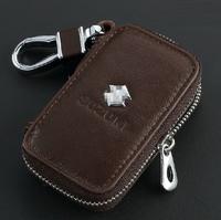 Leather Remote Control Bag FOR Suzuki Swift SX4 Jimny MR Wagon R Lapin Alto Grand Vitara Palette Equator key Bag Key Case
